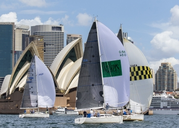 Ideal conditions for NSWs largest keelboat regatta
